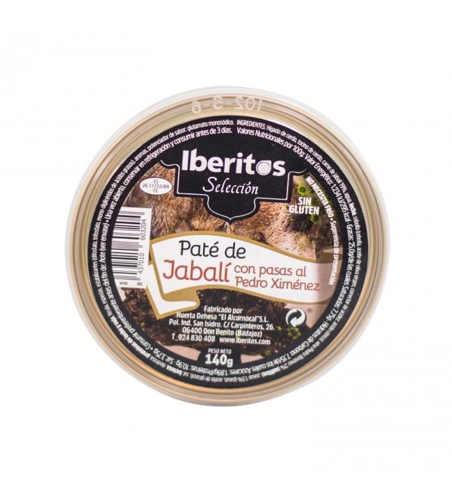 Paté Jabalí con pasas al Pedro Ximénez